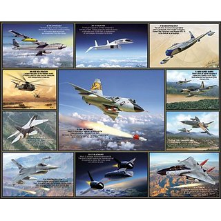 White Mountain Puzzles Legendary Aircraft - 1000 Piece Jigsaw Puzzle