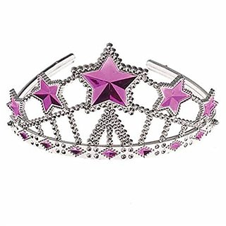 Lot Of 12 Star Theme Princess Tiara Crowns