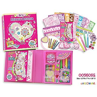 Pecoware Be a Sticker Designer Secret Garden Set