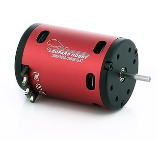 Leopard Brushless Sensored 540 Size Motor 2850Kv 13.5T 2-Pole for 1:10 RC Cars