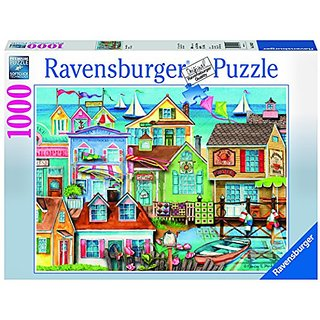 Ravensburger Along The Wharf Jigsaw Puzzle (1000 Piece)