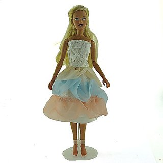 co2CREA(TM) Brand New Fashion Gown Clothes Dresses Mini Cute Outfit for 29cm Barbie Doll (11 1 2 inch scale 1:6) Great X