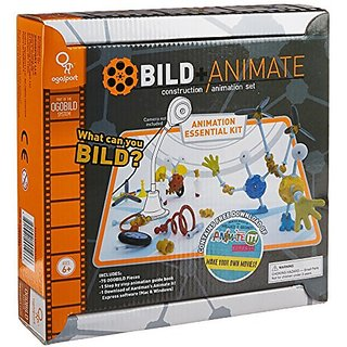 Teaches the basics of stop motion animation; Share finished films with family, friends, and the world!-Allows kids to m