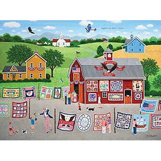 SunsOut Great American Quilt Factory Jigsaw Puzzle (1000-Piece)
