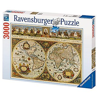 Ravensburger World Map, 1665 - 3000 Piece Puzzle