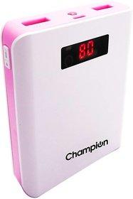 Zeal -Z 10 Power bank 10000 mAh Dark PinkWhite