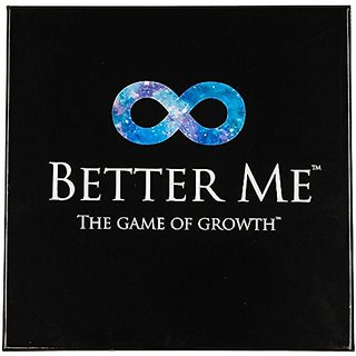 Better Me, the Game of Growth: Fun Self Improvement w Family and Friends, for Healthy Relationships