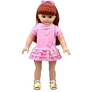 Suitable for 11.5 inches baby doll-Seller recommend age: 3-14 years old-Material: Chemical fiber cotton-Best gift for c