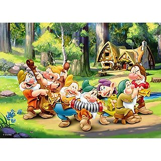 Disney Princess 7 Dwarfs 500 Piece Jigsaw Puzzle (Pc043)