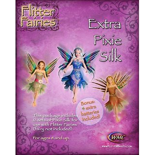 Flitter Fairies 12 Set Extra Pixie Silk Battery 4-Pack