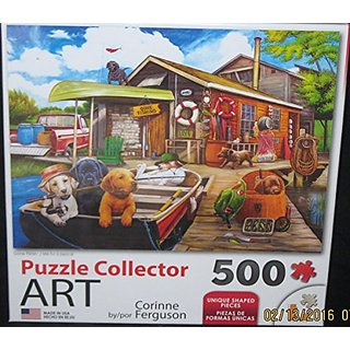 Gone Fishin 500pc Collector Puzzle by: Corinne Ferguson