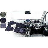 Auto Pearl 2D Car Mats For Maruti Suzuki Swift New Model - Black Grey