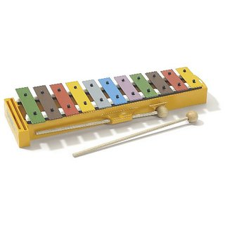 Hohner Kids Glockenspiel (Xylophone) with Songbook