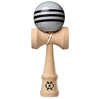 Kendama USA - Tribute Kendama - Grey with Black Stripes