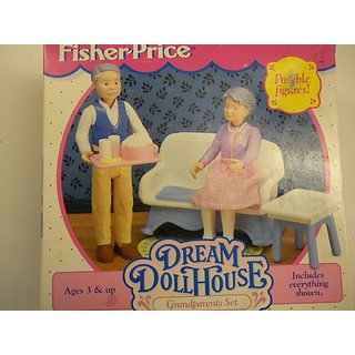 Fisher-price Dream Dollhouse Grandparents Set