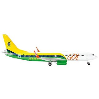 Daron Herpa Gol 737-800 Brazil National Football ( Model Kit (1 500 Scale)