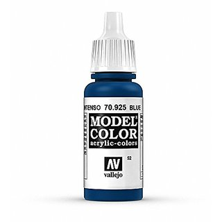 Vallejo Blue Model Color Paint, 17ml