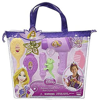 Disney Princess Rapunzel Glam Hair Stylin Tote