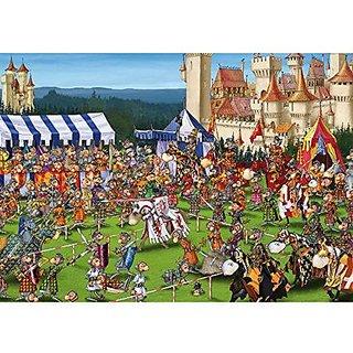 Piatnik Jousting 1000 Piece Francois Ruyer Jigsaw Puzzle