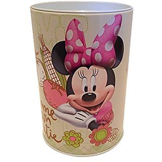 Minnie in Garden Coin Bank for Kids