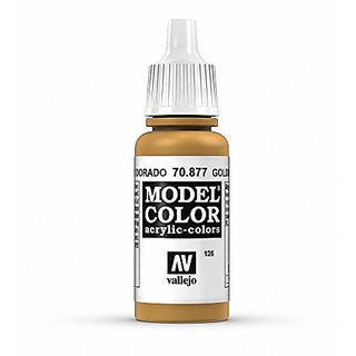 Vallejo Gold Brown Paint, 17ml