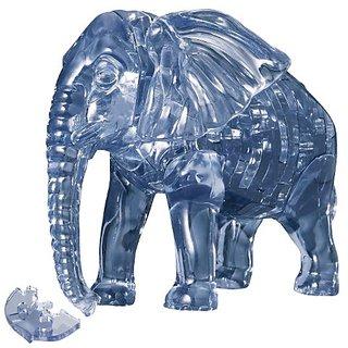 41 piece Crystal puzzle Elephant