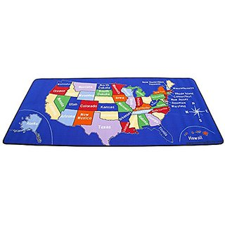 Learning Carpets CPR518 - US MAP Rectangle