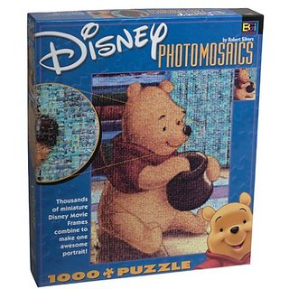 Disney Photomosaic Winnie the Pooh Jigsaw Puzzle 1026pc