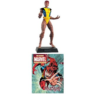 Classic Marvel Fig Coll Mag #192 Wolfsbane