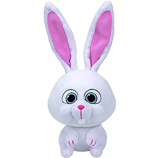 Ty Beanie Babies Secret Life of Pets Snowball The Bunny Medium Plush