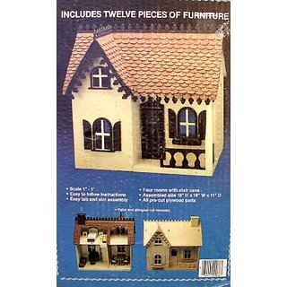 Buy The Bobbi Vintage Wood Dollhouse Kit By Artply Online Get 23 Off