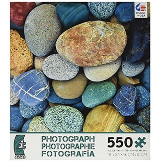 Ceaco Photography - Color Stones Jigsaw Puzzle