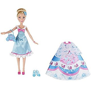 Girls can create and customize unique looks-Doll has movie-inspired features-Includes 3 fabric skirts-Comes with fun fa