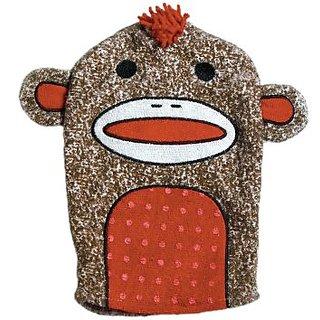 Adora Bathtime Sock Monkey Puppet