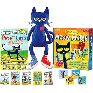 Pete the Cats Super Cool Reading Collection (5 Books), 14.5