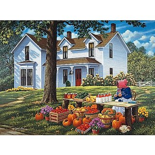 Bits and Pieces Farm Fresh by John Sloane Puzzle 1000pc