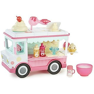 Num Noms Lipgloss Truck includes everything you need to make your own flavored lip gloss!-Pick your flavor, add sprinkl