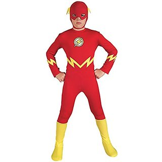 Justice League The Flash Childs Costume, Medium