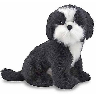 Melissa & Doug Giant Shih Tzu Dog - Lifelike Stuffed Animal