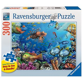 Ravensburger Sea-Horsing Around - 300 Pieces Large Format Puzzle