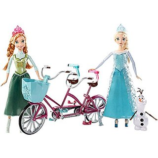 Disney Frozen Anna and Elsas Musical Bicycle Playset