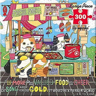 Re-Marks Street Food 300 Large Piece Puzzle