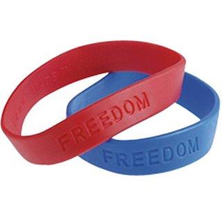 Patriotic Rubber Band Bracelets