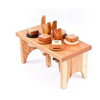 Handmade Organic Wood Workbench in Cherry