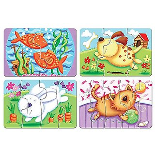 Milly and Flynn My First Pets Puzzles Game