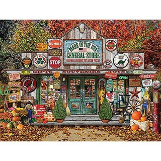 White Mountain Puzzles General Store Jigsaw Puzzle (1000 Piece)