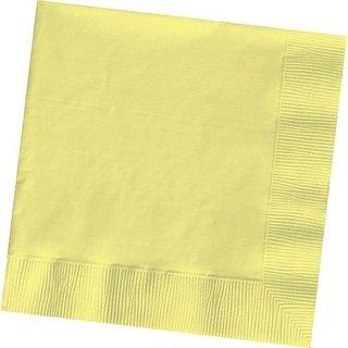 Light Yellow Beverage Napkin