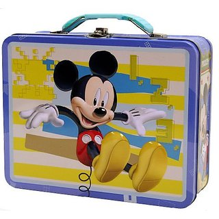 Mickey Mouse Tin Box Carry All