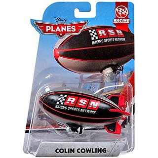 Disney Planes Racing Sports Network Colin Cowling 1:55 Scale Diecast Mattel