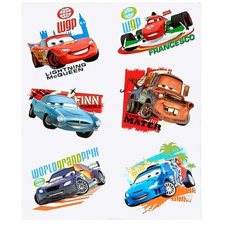 Disney Cars 2 Tattoos (2 sheets) Party Supplies 6-pack set